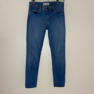 Free People | Denim Skinny Jeans Jeggings mid rise